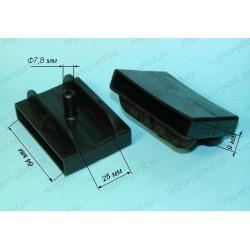 Латодержатель для металлической конструкции (двухсторонний) 64мм (ЛДМ 64/2.1)