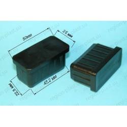 Заглушка внутренняя 25х50х1,2-2 мм